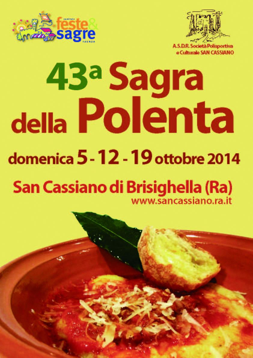 43° Sagra della Polenta, domenica 5 12 19 ottobre!