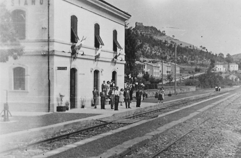 La stazione dei treni